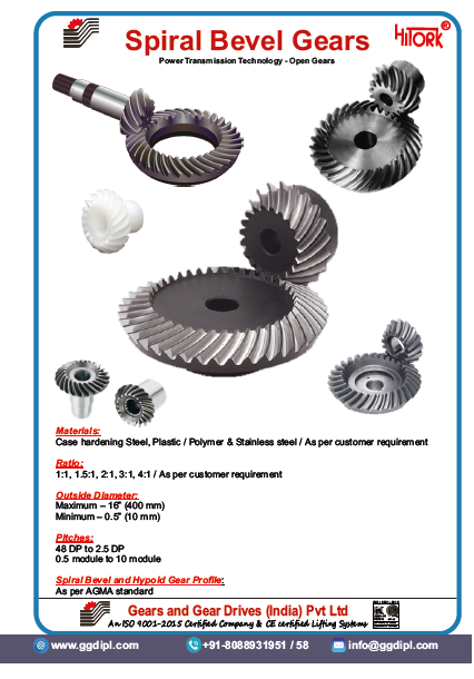 Gears and Gear Drives (India) Pvt  Ltd
